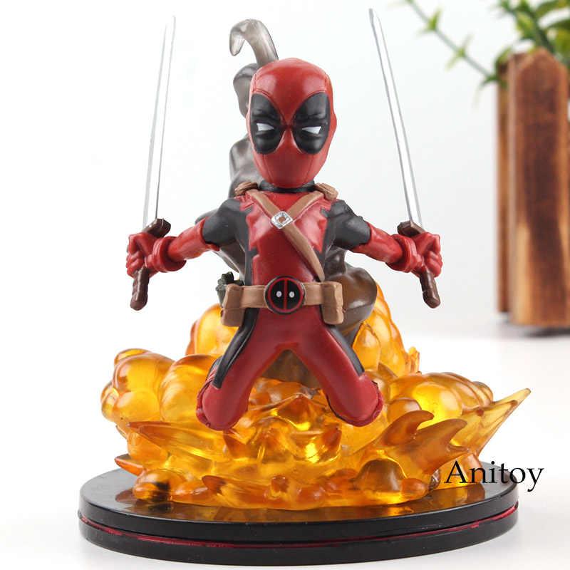 Brinquedos maravilha X-MEN Figura Marvel Deadpool Deadpool PVC Figuras Brinquedos Quentes Presentes Boneca Dois Estilos 10.5 centímetros