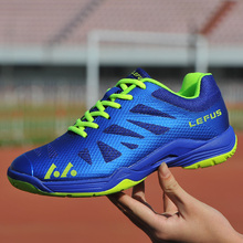 лучшая цена Badminton Shoes Men Tennis Sneaker Youth Training Court Footwear Indoor Cushion Volleyball Shoe Badminton Shoes Players Trainers