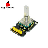 Free shipping !Keyestudio Rotary Rotation Encoder Module for Arduino