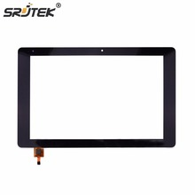 Srjtek For chuwi Hi10 Pro CW1529 Touch Screen Tablet PC New Panel Digitizer Sensor Repair Replacement Parts Black