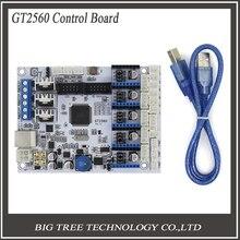 3D управления принтером доска GT2560 Поддержка Dual Экструдер Мощность, Чем ATmega2560 Ultimaker 3 3D0233