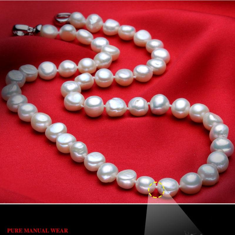 XF800 Πρόστιμο Μαργαριτάρι Κολιέ - Κοσμήματα - Φωτογραφία 4