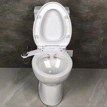 Non-Electric Bidet Attachment Toilet Bidet Seat Self-Cleaning Nozzle-Fresh Water Bidet Sprayer Mechanical Muslim Shattaf Washing