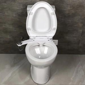 Image 2 - Non Electric Bidet Attachment Toilet Bidet Seat Self Cleaning Nozzle Fresh Water Bidet Sprayer Mechanical Muslim Shattaf Washing