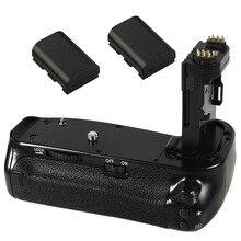 JINTU Pro вертикальные жалюзи держатель батареи+ 2 шт LP-E6 комплект батарей для Canon EOS 6DII 6D Mark II DSLR камеры как BG-E21