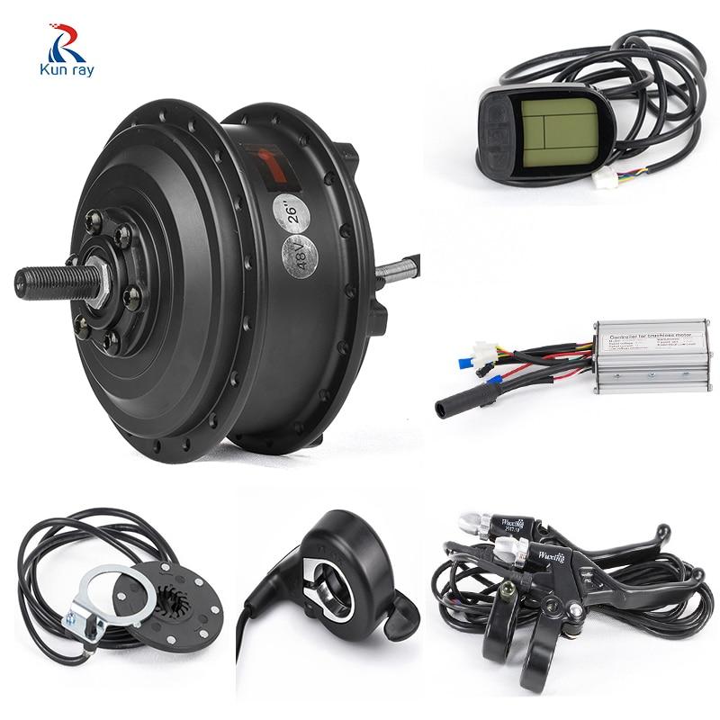 MXUS XF08 250W Electric Bicycle Conversion Kit 20 24 26 28 27.5 inch 700C Rear Motor Wheel Bicicleta Eletrica With Display