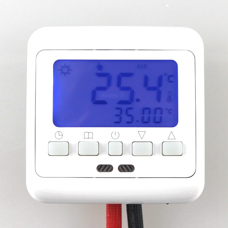 Room heating thermostat for underfloor heating system for Room heating system