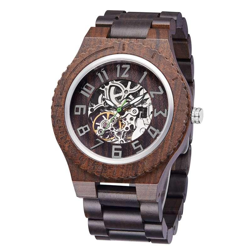Wood Watch  Quartz Watches   Wooden   Wooden Watch  Men2- (1)