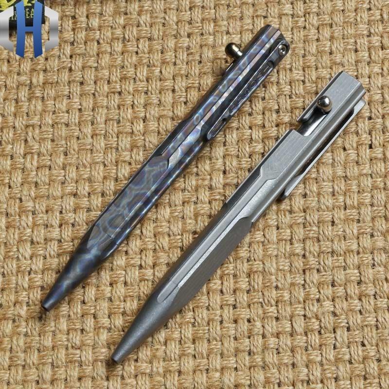 Titanium Tactical Pen Girl Self-defense Pen Broken Window Defense Supplies EDC Tool
