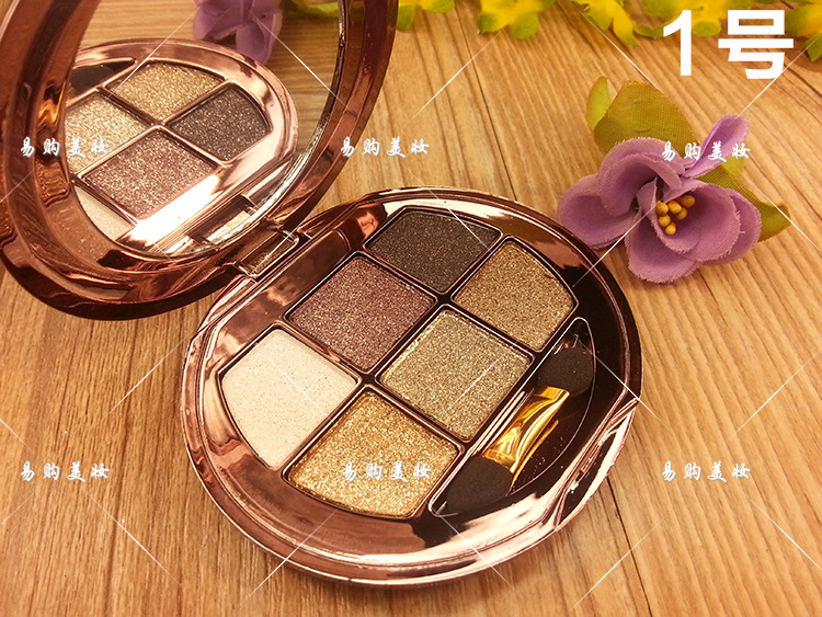 Beauty Essentials Shiny Eyeshadow Makeup Naked Palette Natura Easy To Wear Brighten Cosmetics Beauty Tools Portable Palette Maquillage