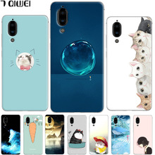 For Sharp Aquos S2 Case Silicone Cute Cat Cartoon Clear Back Cases For Sharp Aquos S2 Cover TPU Animal Girls For Sharp Aquos S 2