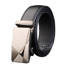 Men's Automatic Buckle PU Belt