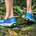 Sandalias de playa Para Hombre 2017 Verano Flip Flop Zapatos Casuales Sandalias de Punta Abierta Antideslizantes Impermeables Para Hombre