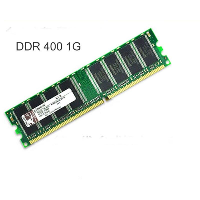 Kingston Ltd DDR1 1 gb ddr400 pc3200 DDR 400MHz memória ddr de Desktop 184Pin CL3 DIMM RAM 1G Vida garantia