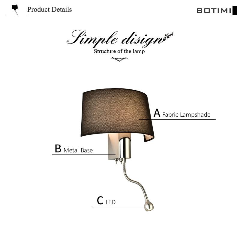 modern led wall light