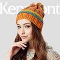 Kenmont Otoño Invierno Las Mujeres de Señora Girl Caliente de Acrílico Mano Cap1641 Jacquard de Punto Beanie Sombrero Al Aire Libre