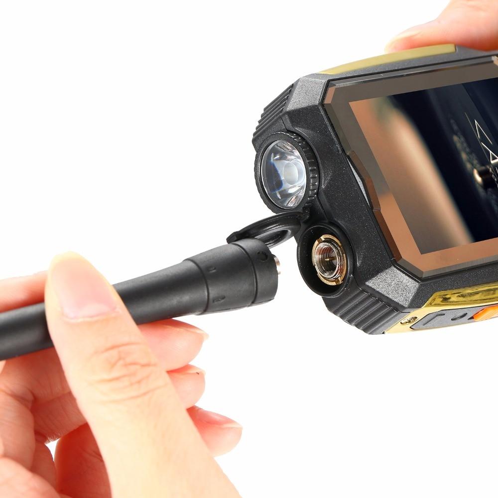 MAFAM M2 Ruso Árabe 4000mAh Tarjetas Dual SIM UHF Walkie Talkie - Teléfonos móviles - foto 4