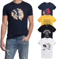 21 Colors TOP Quality AFS Summer Men T-shirt 100% Cotton Short Sleeve T Shirt Hollistic Men S-3XL Clothing Tshirt Homme