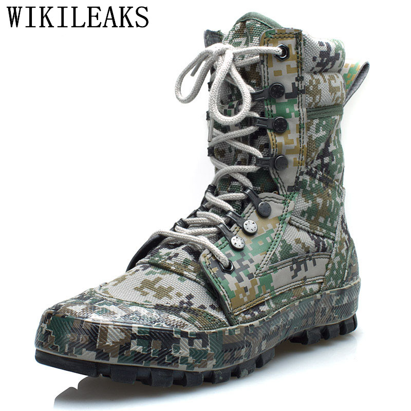 famous brand military boots desert delta boots men shoes tactical boots outdoor climbing camouflage ankle boots chaussure homme