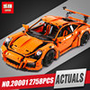 LEPIN 20001 New Technic Series 911 GT3 RS Race Car Model Building Kits Mini Figure Blocks
