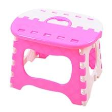 Пластиковые складные 6 Тип утолщенные шаг Портативный Детские табуреты 24,5*19*17,5 см