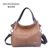 2016 Vintage Women's PU Leather Handbags Female High Quality Shoulder Bags Ladies All-Match Messenger Bags Bolsas Casual Tote