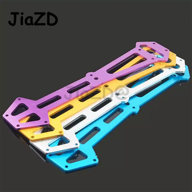1PCS 03002 Aluminum Alloy Radio Tray Second Floor Board Spare Parts Suitable for HSP 1/10 RC Model On-road Cars 94103 94123 ky25