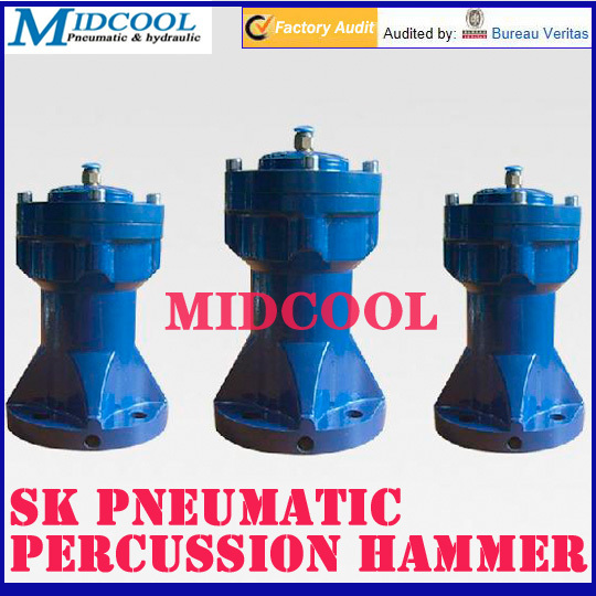 SK-40 air Pneumatic Percussion Hammer IN 1/4 PT OUT 1/8 PT SK series for chemical fertilizer food 5 in 1 multifunction medical hammer medical neurological hammer percussor diagnostic medical reflex percussion hammer set