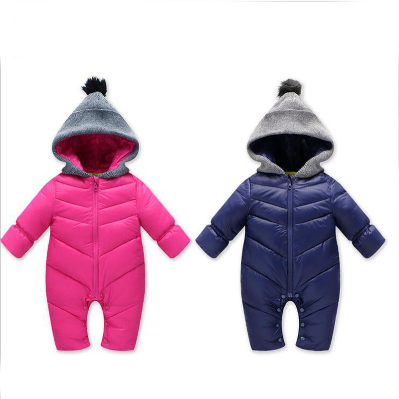 baby winter clothes 2017 new baby boy girl snowsuit baby solid hooded infant parka thicken warm zipper baby winter romper 2017 baby parka boy winter medium long thicken warm baby boy jacket winter solid hooded boys winter coat winter jacket boy 6 13t