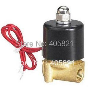 N/O 1/4 Magnetic Solenoid Water Valve Model 2W025-08K DC12V,DC24V,AC110V,AC220V,380V 1 2 built side inlet floating ball valve automatic water level control valve for water tank f water tank water tower