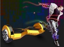 Regalo de navidad 8 pulgadas Scooter Eléctrico de Dos Ruedas Scooter chrome oxboard Skateboard Hoverboard Eléctrica Inteligente con Bluetooth ul