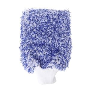 Image 2 - 1PC Car Care Glove Plush Soft Microfibre Wash Mitt Microfiber Car Cleaning Detailing