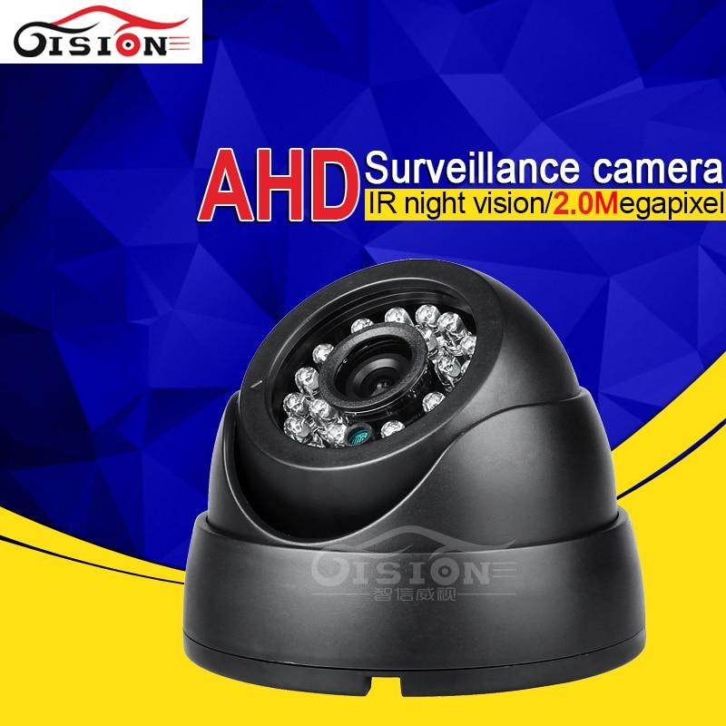 2.0MP AHD Camera Free Shipping Plastic Inside Vehicle Camera,HD Internal 24PCS LED Dom Camera For Taxi Bus Van Boat Train