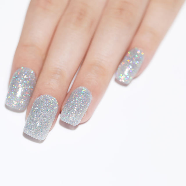 LILYCUTE Holographic Glitter Sequins Gel
