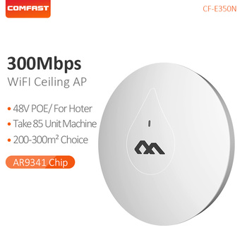 COMFAST 300M Indoor Ceiling AP Through Wall Powerful 48V POE Adapter Wi fi Router Access Point Signa