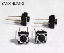 100 шт. 2 контакты 6*6*5 мм Switch Тактильные Кнопка Настенные переключатели 6x6x5 мм