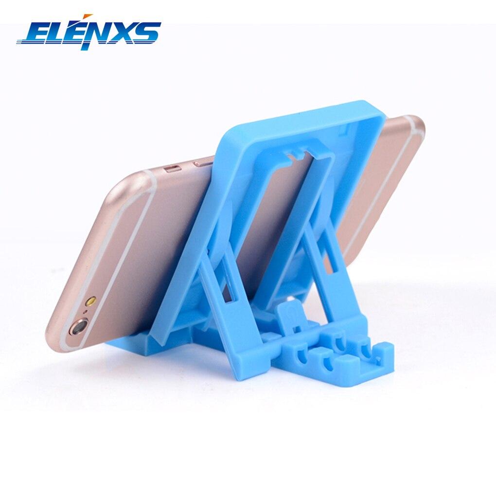 ELENXS Hot Sale Prático Mini F1 PP Plástico Telefone Tablet Suporte Suporte para iPhone para Samsung