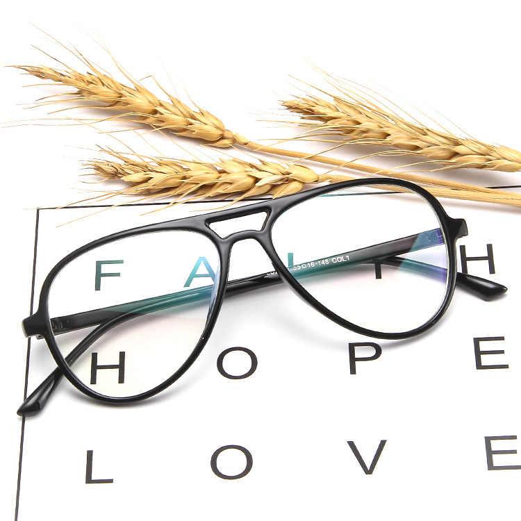 Higodoy, прозрачные компьютерные очки, прозрачная оправа, женские очки, пластиковые, мужские, синий светильник оправа для очков