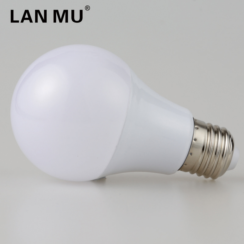 LED Bulb Lamps E27 3W 5W 7W 9W 12W 15W 220V Light Bulbs Smart IC Real Power Spotlight High Brightness Lampada LED Bombillas