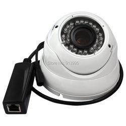 1MP 1280*720 P aparat IP HD IR CUT Night Vision 2.8 12mm soczewka wieloogniskowa bezpieczeństwa KAMERA TELEWIZJI PRZEMYSŁOWEJ na zewnątrz kryty nadzoru|camera ir cut|ip camerasecurity cctv camera -