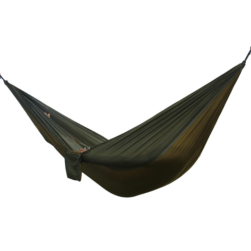 Outdoor double Hammock Portable Parachute Cloth 2 Person hamaca hamak rede Garden hanging chair sleeping travel swing hamac garden swing for children baby inflatable hammock hanging swing chair kids indoor outdoor pod swing seat sets c036 free shipping