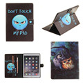 TX Cartoon Print PU Leather Slim Stand With Soft TPU Back Case For Apple iPad air 2 Case Cover For iPad air2 ipad6 9.7 inch Capa