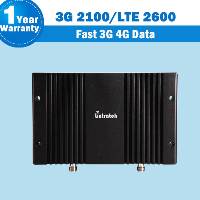 3G 4G WCDMA 2100 LTE 2600 Band 7 Cell Phone Signal Repeater 75dB 3G 2100 4G LTE 2600 Mhz Mobile Phone Cellular Amplifier S8