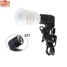 Godox Lh-01 Ac Slave Işık E27 Soket w/Şemsiye Tutucu Softbox Işık Standı Dağı