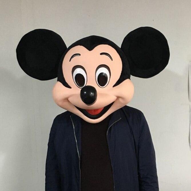Di alta qualità di Mickey Testa della mascotte del costume della mascotte della mascotte personalizzato carnevale costumi in maschera costumi della mascotte di Mickey Mouse