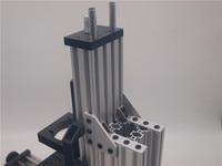 Minimill kit mecânico não montar eixo desktop cnc roteador pacote minimill máquina modular de 3 eixos batida|Peças e acessórios em 3D| |  -