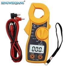 MT87 красный цифровой мультиметр Ампер клещи токовые клещи AC DC ток тестер напряжения