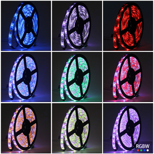 Image 5 - DC 12V Mini WIFI RGB/RGBW/RGBWW Led Strip 5050 Led Flexible Light Waterproof Magic Home APP Alexa Google / 24Key IR RGB Strip