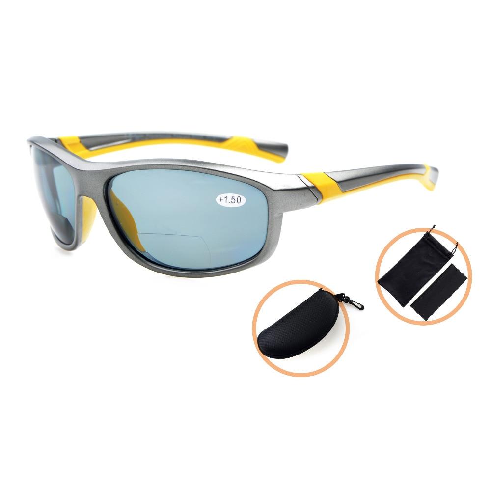 TH6170PGSG Eyekepper polikarbonāta polarizētie bifokālie sporta saulesbrilles sievietēm TR90 nesalaužams + 1,50 / + 2,0 / + 2,5