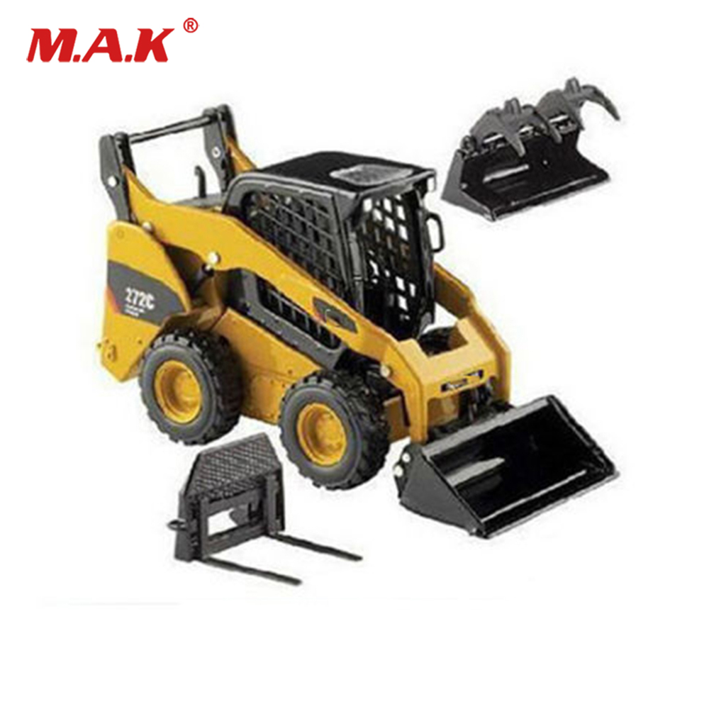 Collection Diecast 1/32 Scale Street Forklift Truck Skid Steer Loader Vehicles Toys 55167 Engineering Vehicles Model